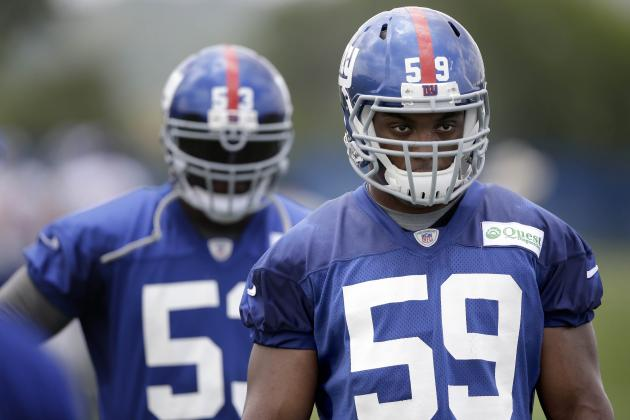 5 Players Turning Heads at New York Giants Training Camp