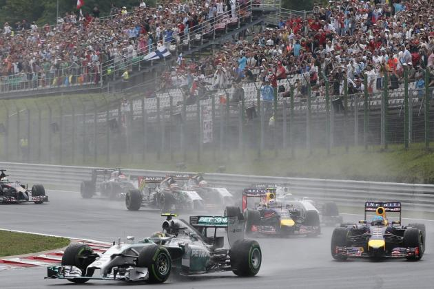 Power Ranking the Formula 1 Teams After 2014 Hungarian Grand Prix