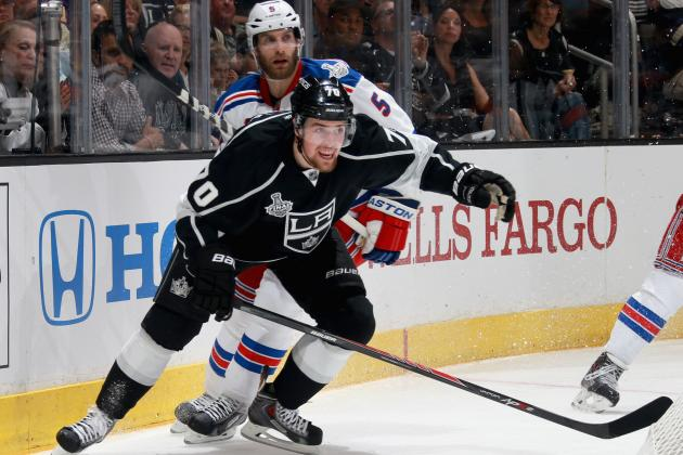 Predicting Los Angeles Kings' Most Improved Players for 2014-15 Season