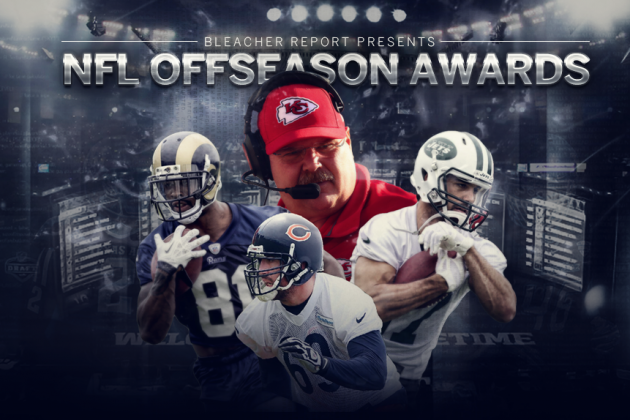 Bleacher Report's 2014 NFL Offseason Awards
