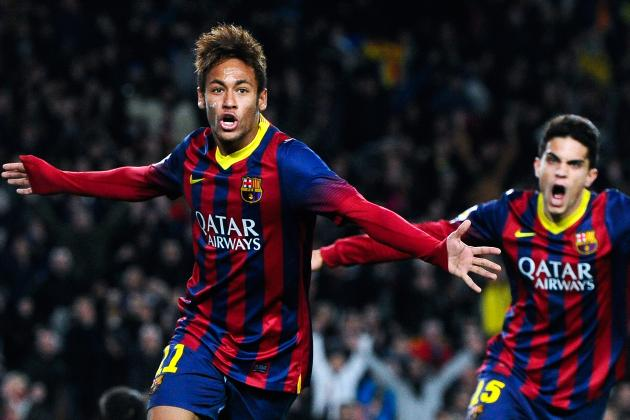 Ranking Neymar's Top 5 Games in His Debut Barcelona Season