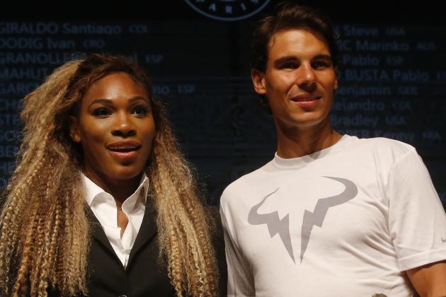 Serena Williams, Rafael Nadal and Winners, Losers to Begin 2014 US Open Series