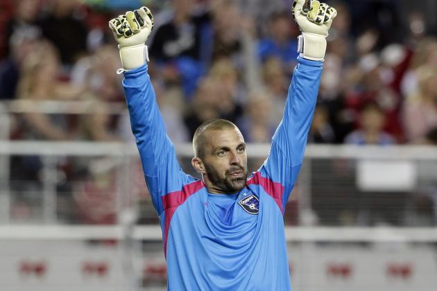 MLS Team of the Week: San Jose Trio Star in Shutout Win