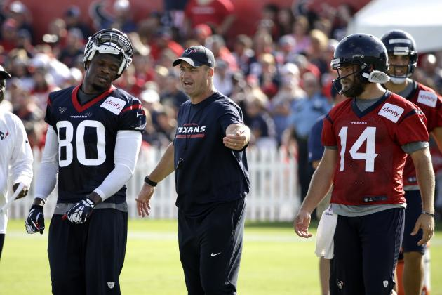 Houston Texans: What We've Learned Through Week 1 of Training Camp