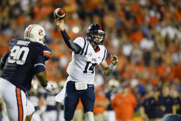 Auburn Football: 5 Best QBs the Tigers Will Face in 2014