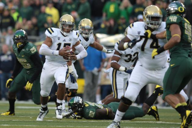 Oregon Football: 5 Best QBs Ducks Will Face in 2014