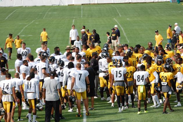 Predicting Pittsburgh Steelers' 1st Wave of Roster Cuts