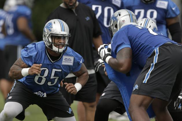 Detroit Lions Rookie Training Camp Progress Reports