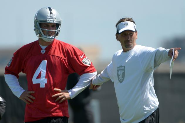 Oakland Raiders Rookie Training Camp Progress Reports
