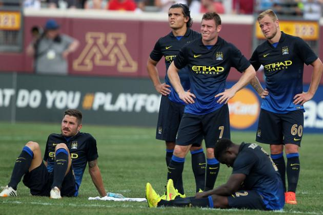 Ranking Manchester City's Top 5 Pre-Season Performers
