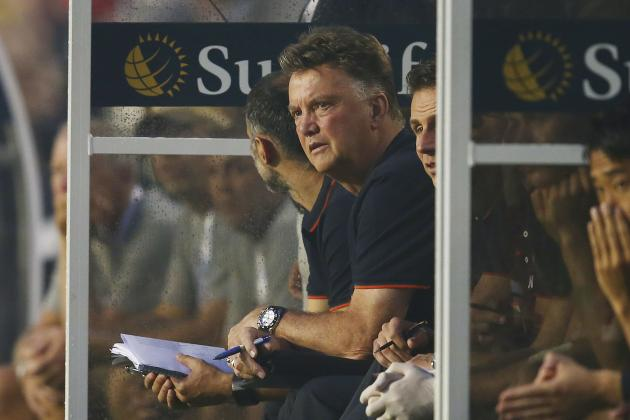 International Champions Cup Final: What Louis Van Gaal Learned