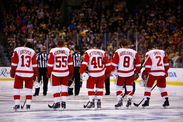 The Biggest Question for Each Detroit Red Wings Line in 2014-15