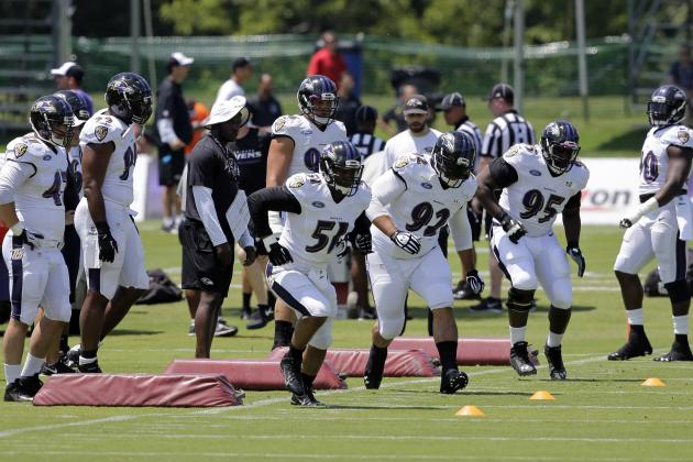 Baltimore Ravens Training Camp Progress Reports for Notable Rookies