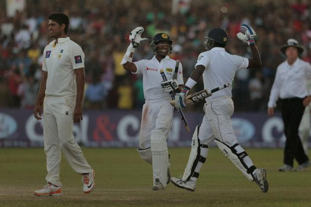 Winners and Losers from Sri Lanka vs. Pakistan 1st Test in Galle