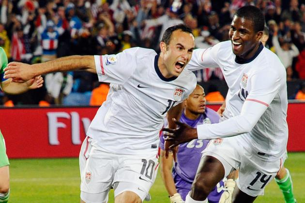 Landon Donovan's Top 10 Moments as He Announces His Retirement Plans