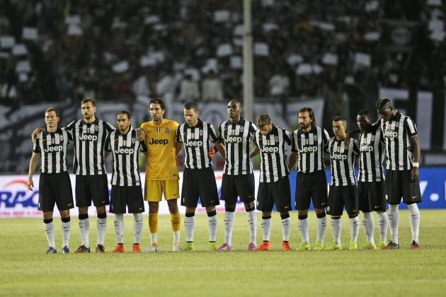 A-League All-Stars V Juventus: How Juve Will Line Up in Sydney
