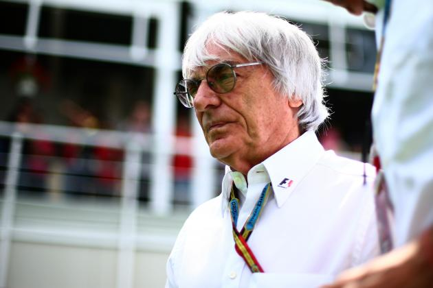 Formula 1 CEO Bernie Ecclestone's Most Memorable Quotes