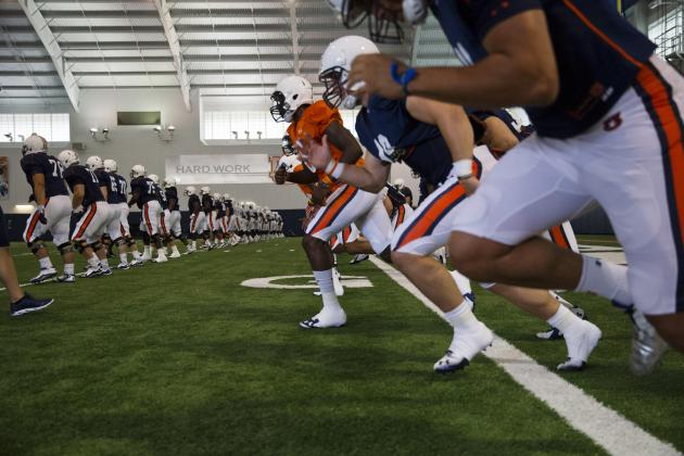 5 Things We've Learned About Auburn Through Fall Camp so Far