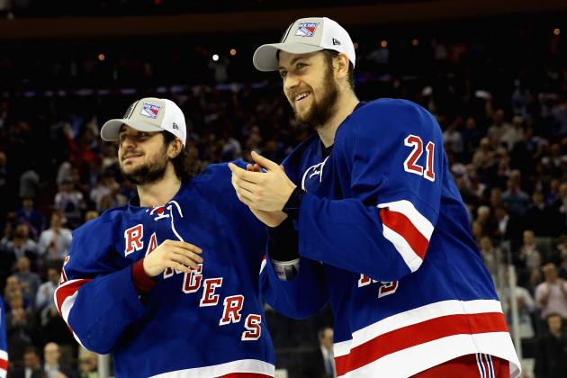 Setting Expectations for New York Rangers' Offensive Stars in 2014-15