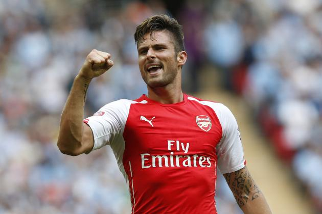 Giroud's French Fancy and the 10 Best Golazos from World Football This Weekend