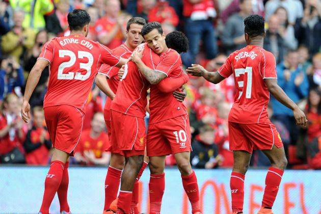 Projecting Brendan Rodgers' Best Liverpool Lineup