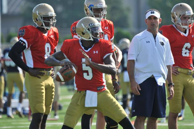 4 Things We've Learned About Notre Dame Through Fall Camp So Far