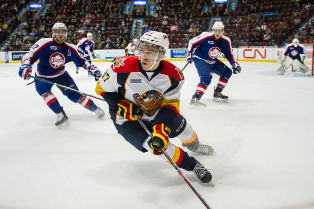 Early Ranking of the Top 10 Prospects in the 2015 NHL Draft
