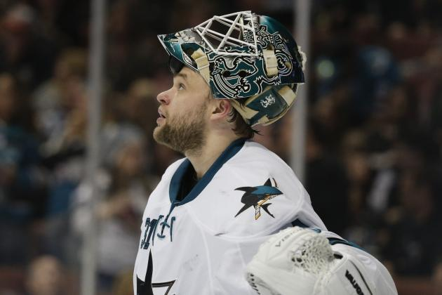 Ranking the 5 Best Goaltenders in San Jose Sharks History