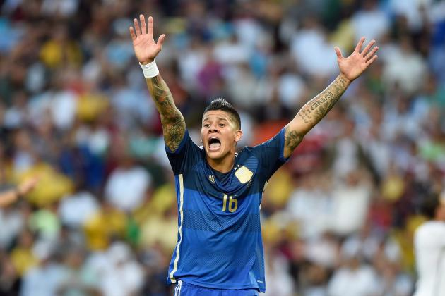Marcos Rojo and 10 Players with Complicated Third-Party Ownership
