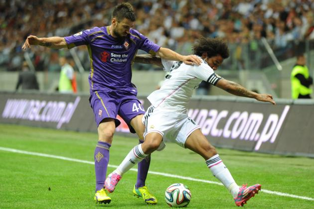 Real Madrid vs. Fiorentina: Winners and Losers from Warsaw Friendly