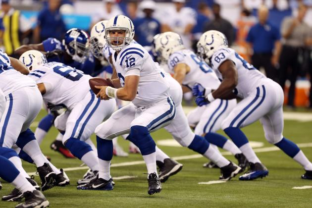 New York vs. Indianapolis: Report Card Grades for Each Colts Unit