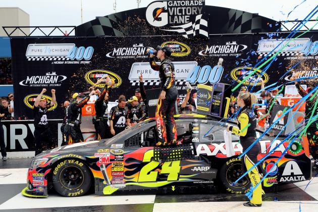 NASCAR at Michigan 2014: Winners and Losers from the Pure Michigan 400