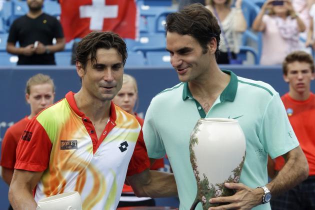 Roger Federer, Serena Williams and Winners, Losers at Cincinnati Masters