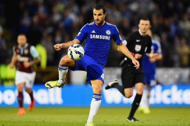 Premier League Player Rankings After Week 1: Fabregas, Man City Players Star