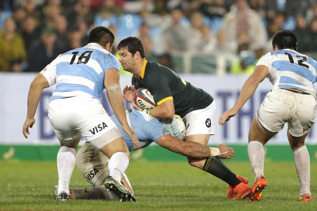 Argentina v South Africa: 5 Key Battles That Will Shape Rugby Championship Clash