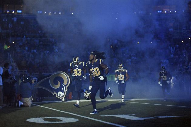 Breaking Down St. Louis Rams' Likely Opening Game Starting Lineup