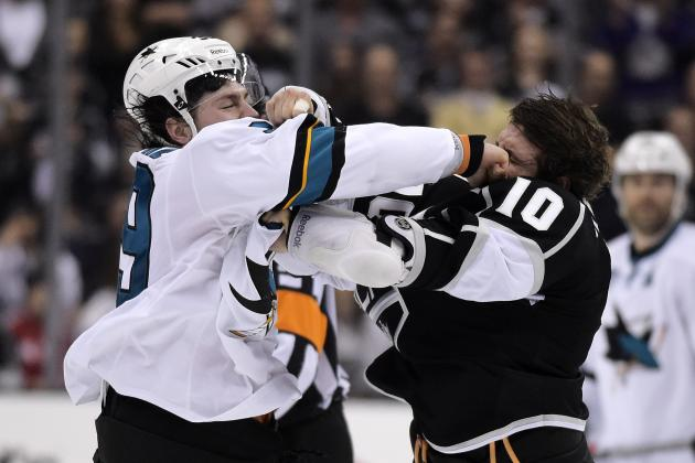 Ranking the San Jose Sharks' 5 Biggest Rivals in 2014-15