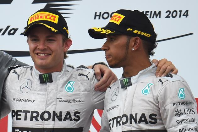 Lewis Hamilton and Nico Rosberg: Head-to-Head Records at Remaining 2014 Races