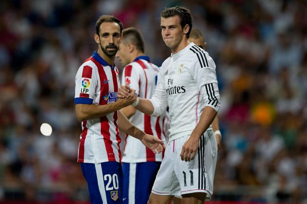 Real Madrid vs. Atletico Madrid: Winners and Losers from Super Cup 1st Leg