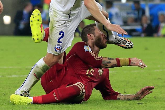 Sergio Ramos' 10 Worst Fouls