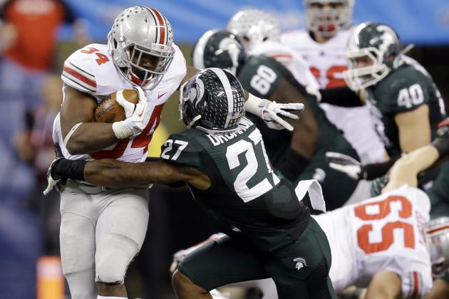 Big Ten Football: Biggest 2014 Games with Playoff Implications