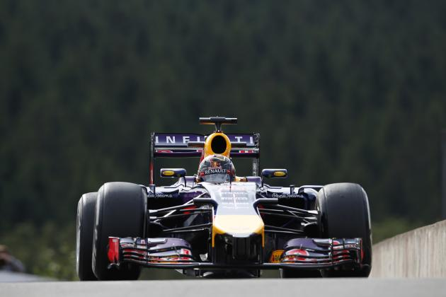 Belgian Formula 1 Grand Prix 2014: Results, Times for Practice and Qualifying