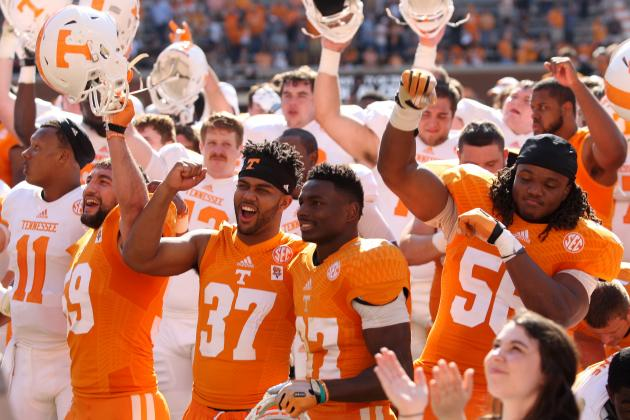 Tennessee Football: Ranking Top 10 Vols Heading into 2014 Season