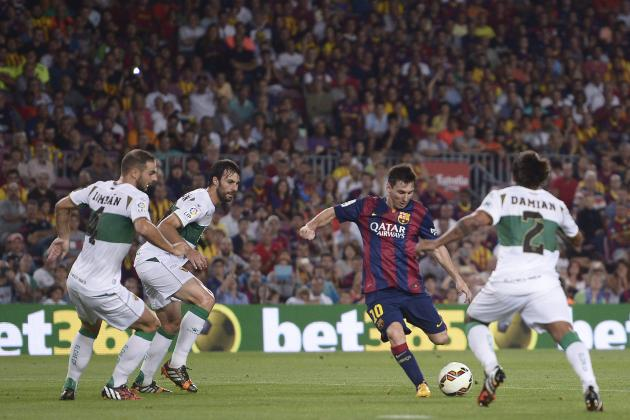 Messi's Magic and the 10 Best Golazos from World Football This Weekend