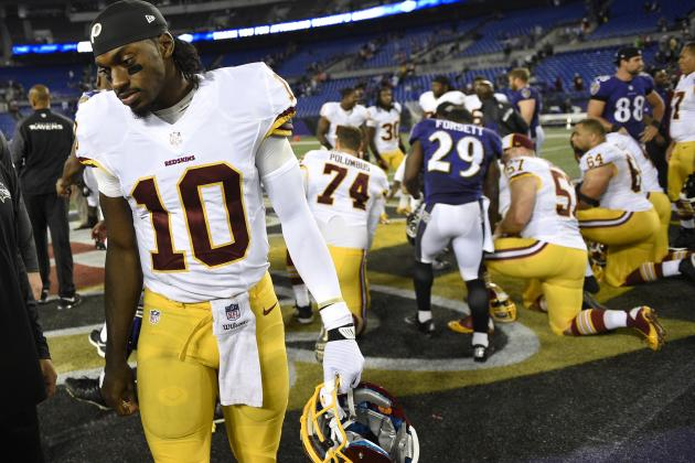 Washington Redskins vs. Baltimore Ravens: Grades for Each Redskins Unit