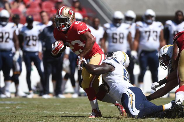 49ers vs. Chargers: Report Card Grades for Each Niners Unit