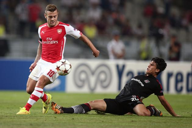 Key Battles That Will Shape Arsenal's Champions League Clash with Besiktas