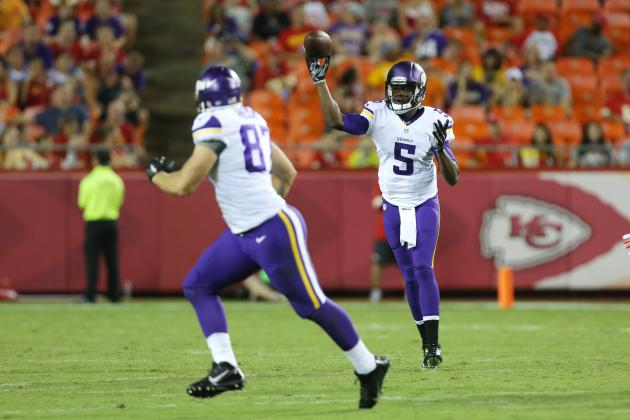 Minnesota Vikings vs. Tennessee Titans: Vikings  Preseason Week 4 Game Preview