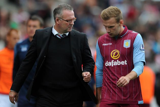 Aston Villa: 5 Observations of Villa's Offence so Far in 2014-15