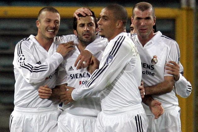 From Zidane to Ronaldo to Bale to James: Ranking Real Madrid's Galacticos